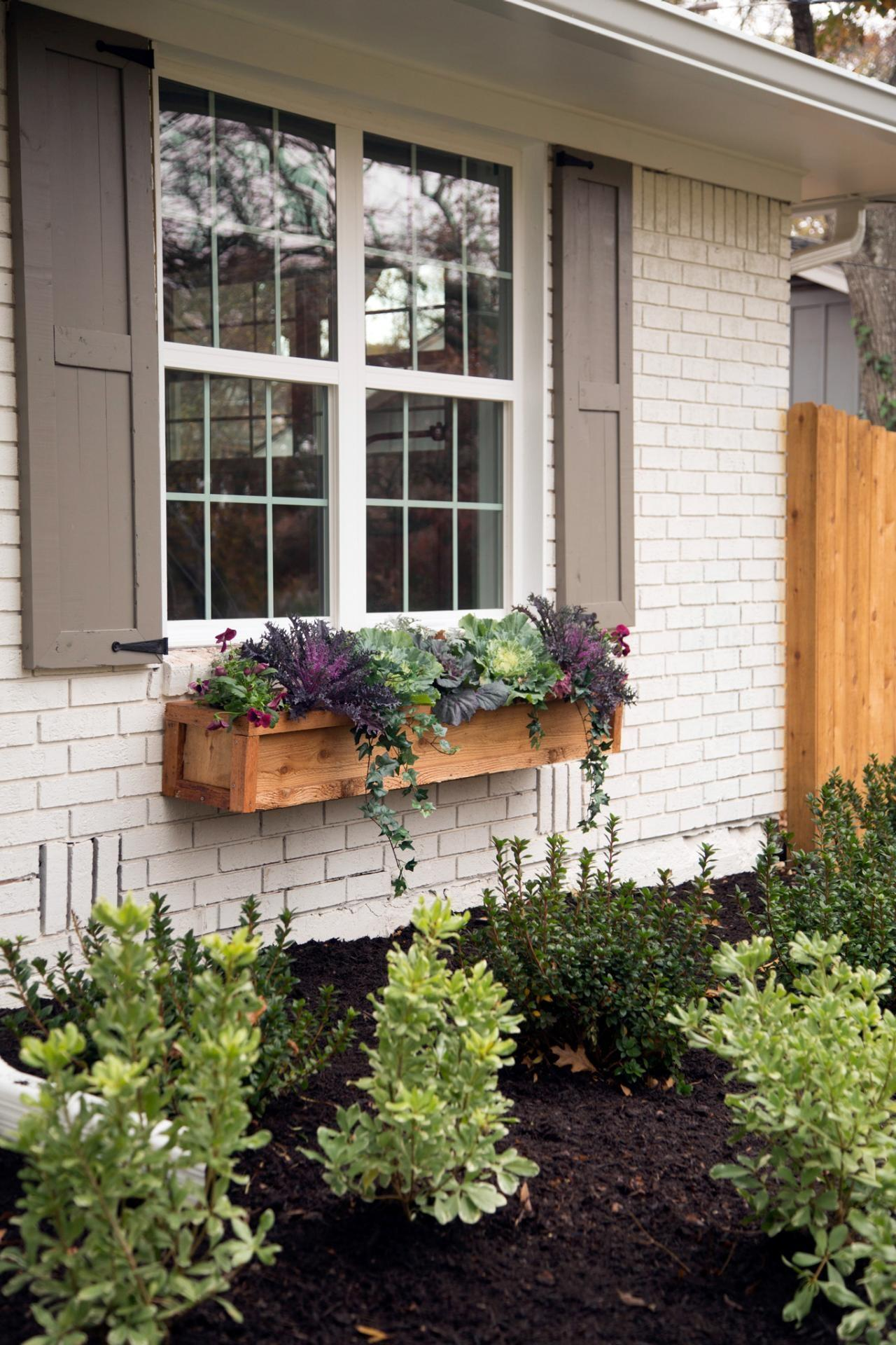 Elegant Window Box Arrangement