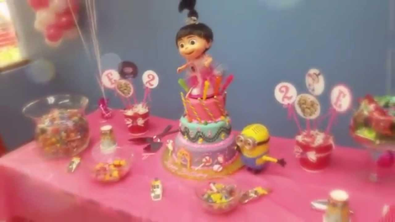 Elena Despicable 2nd Birthday Party