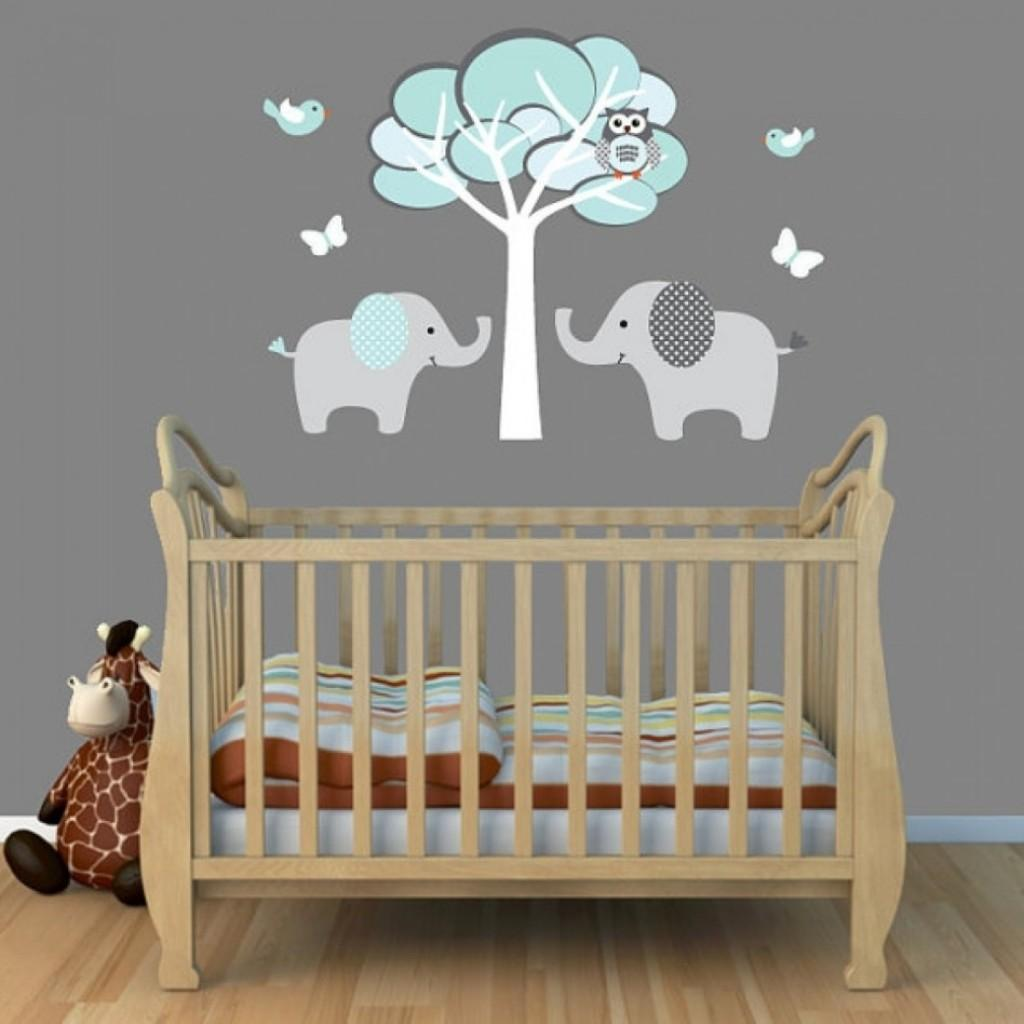 Elephant Crib Bedding Boy Girl Futon Beds Ideas