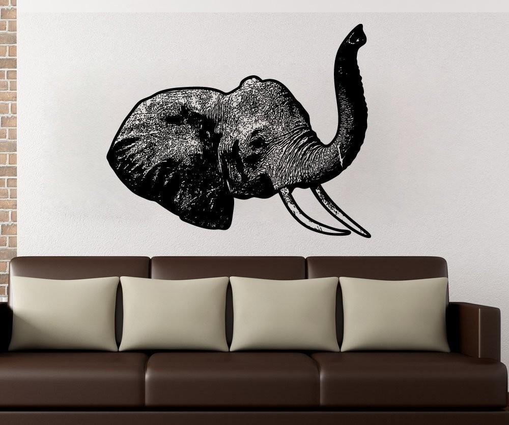 Elephant Decor Ideas Huge Art Your Walls