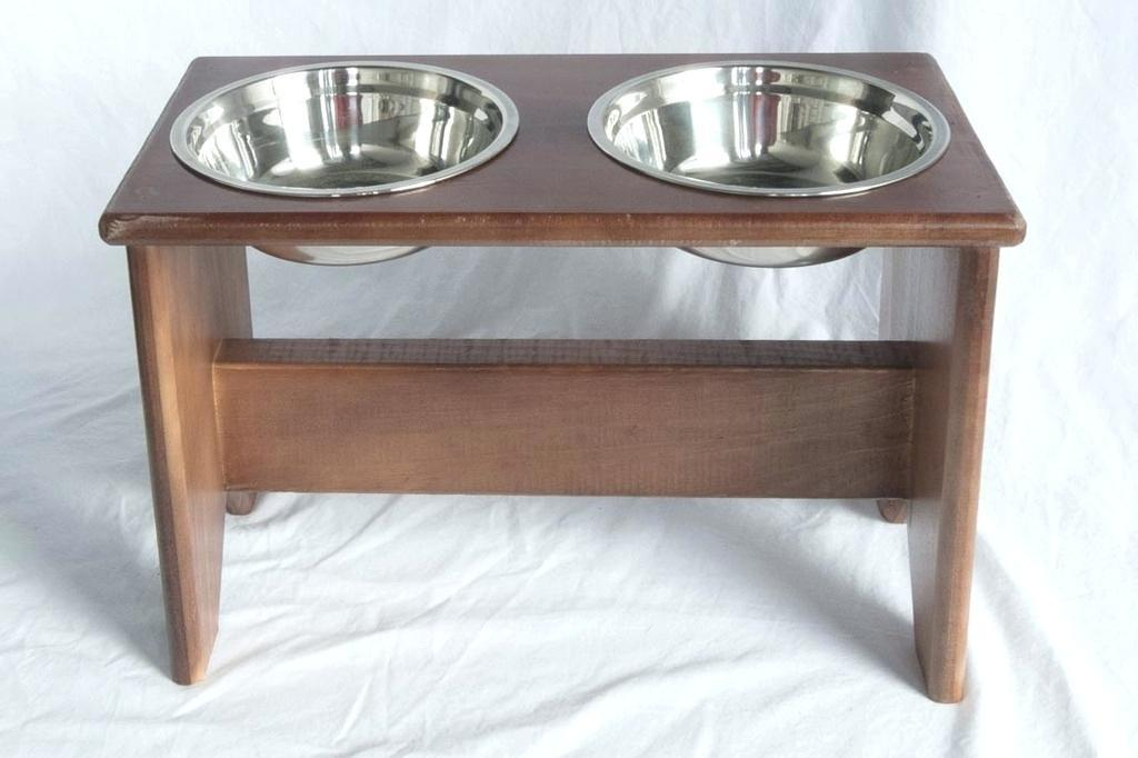 Elevated Dog Bowl Stand Wooden Bowls 400 Raised