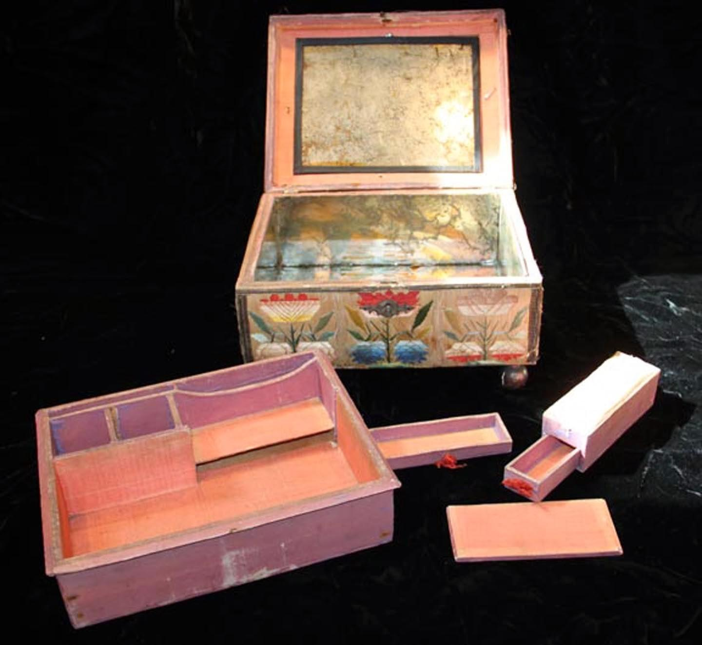 Embroiderer Story Cabinet Curiosities