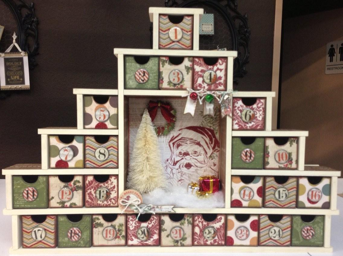 Enchanting Handmade Christmas Advent Calendar Ideas