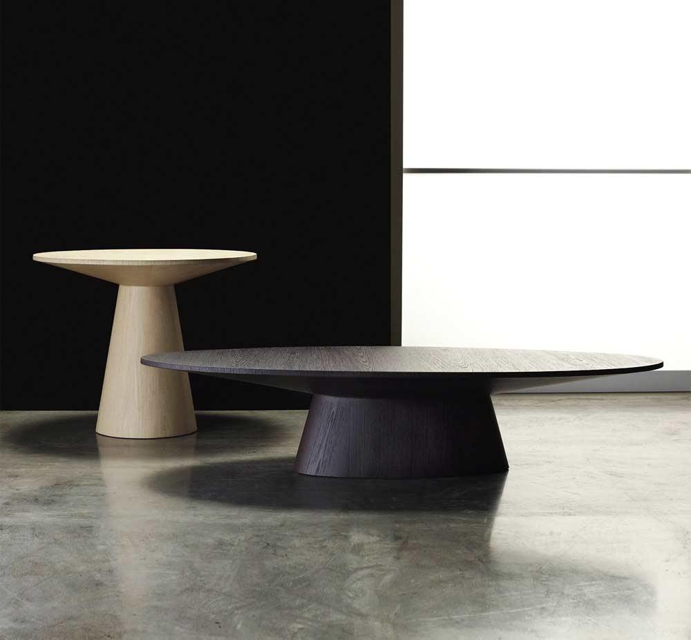 Encore Oval Shaped Coffee Table Contemporary