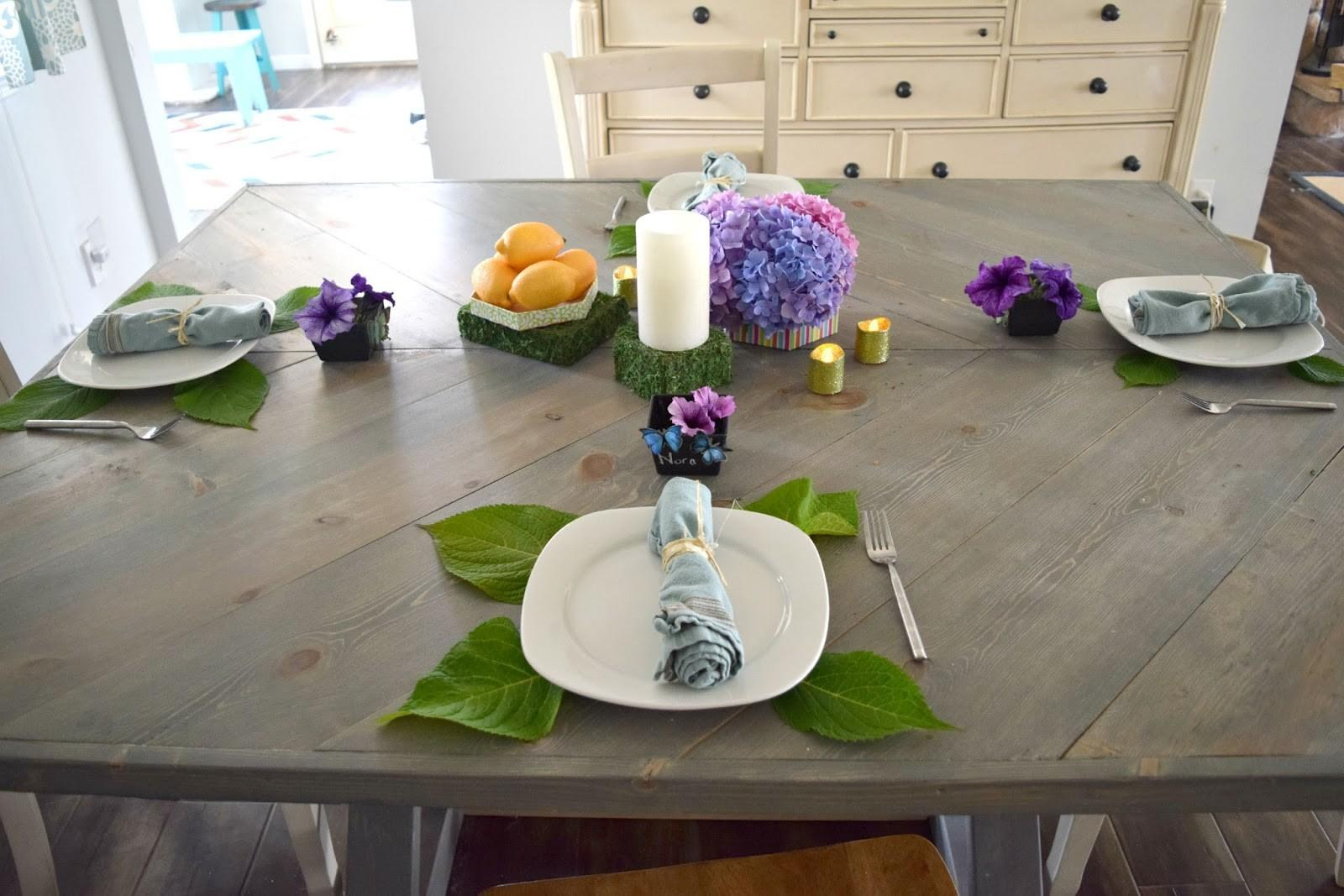 End Summer Tea Party Using Dollar Store Finds Our