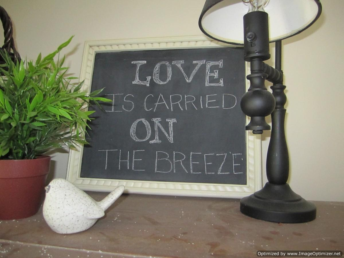 Endless Possibilities Chalkboard Paint Proverbs