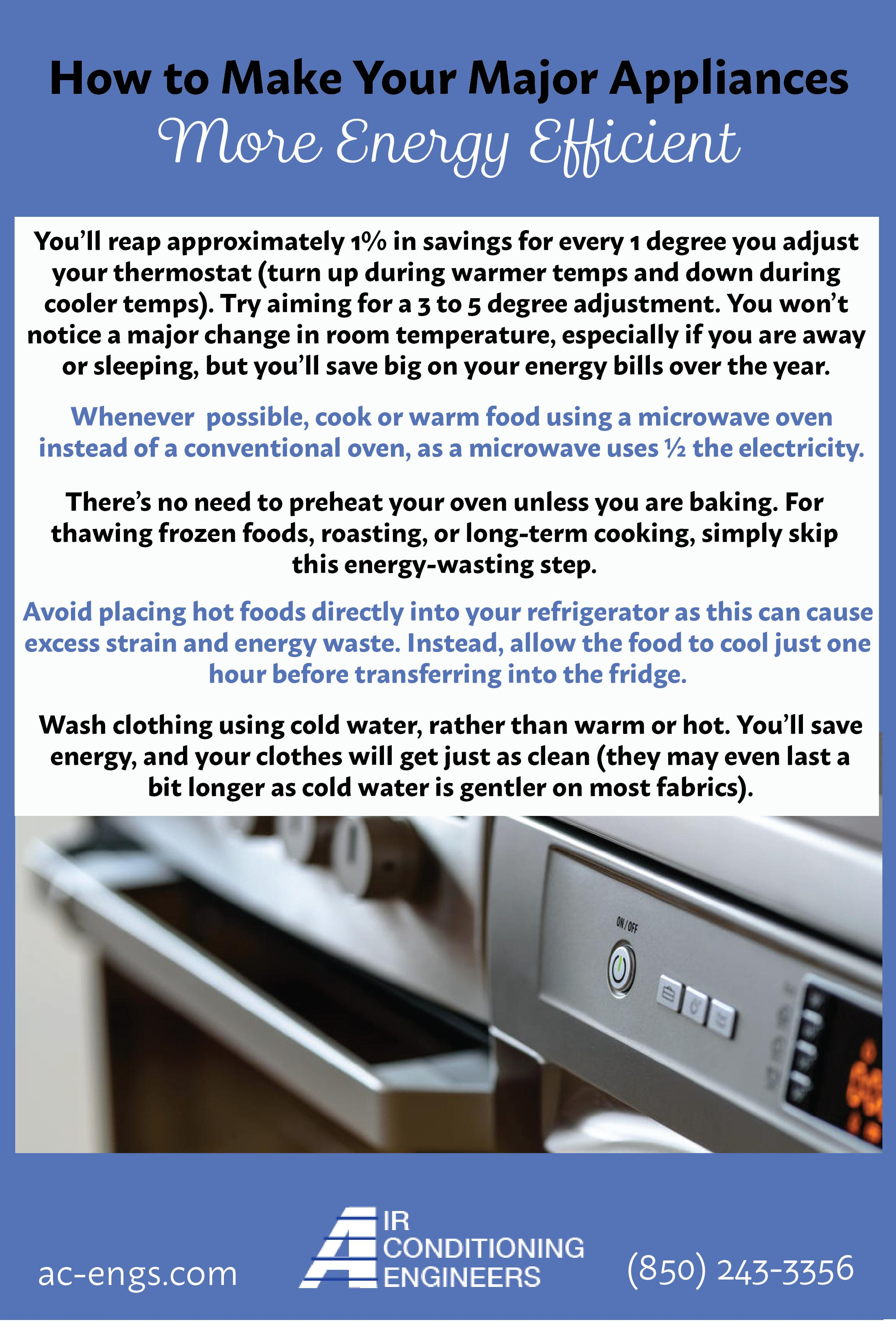 Energy Efficient Tips Home Appliances Engineers
