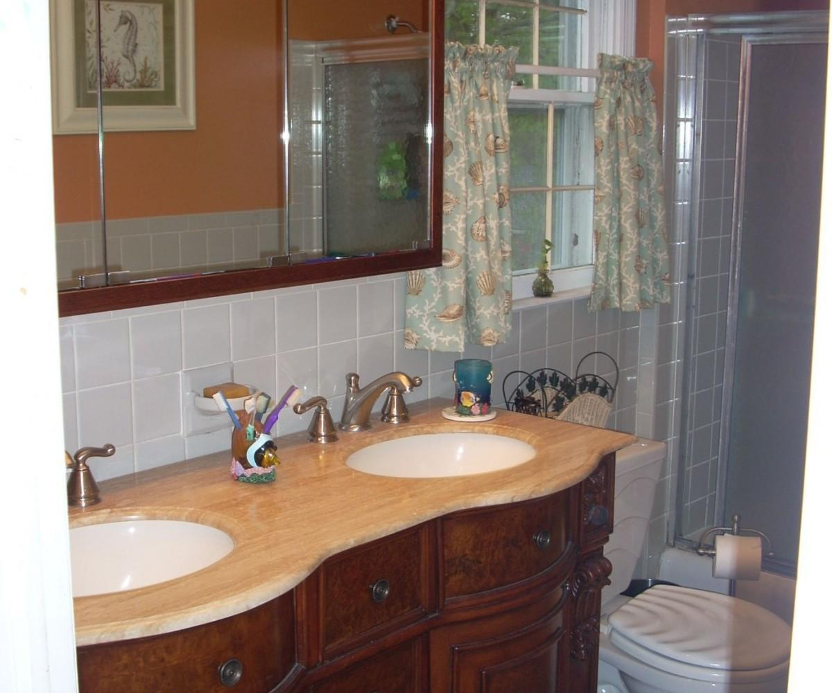 Engaging Your Pertaining Tosizing Curved Front Bathroom