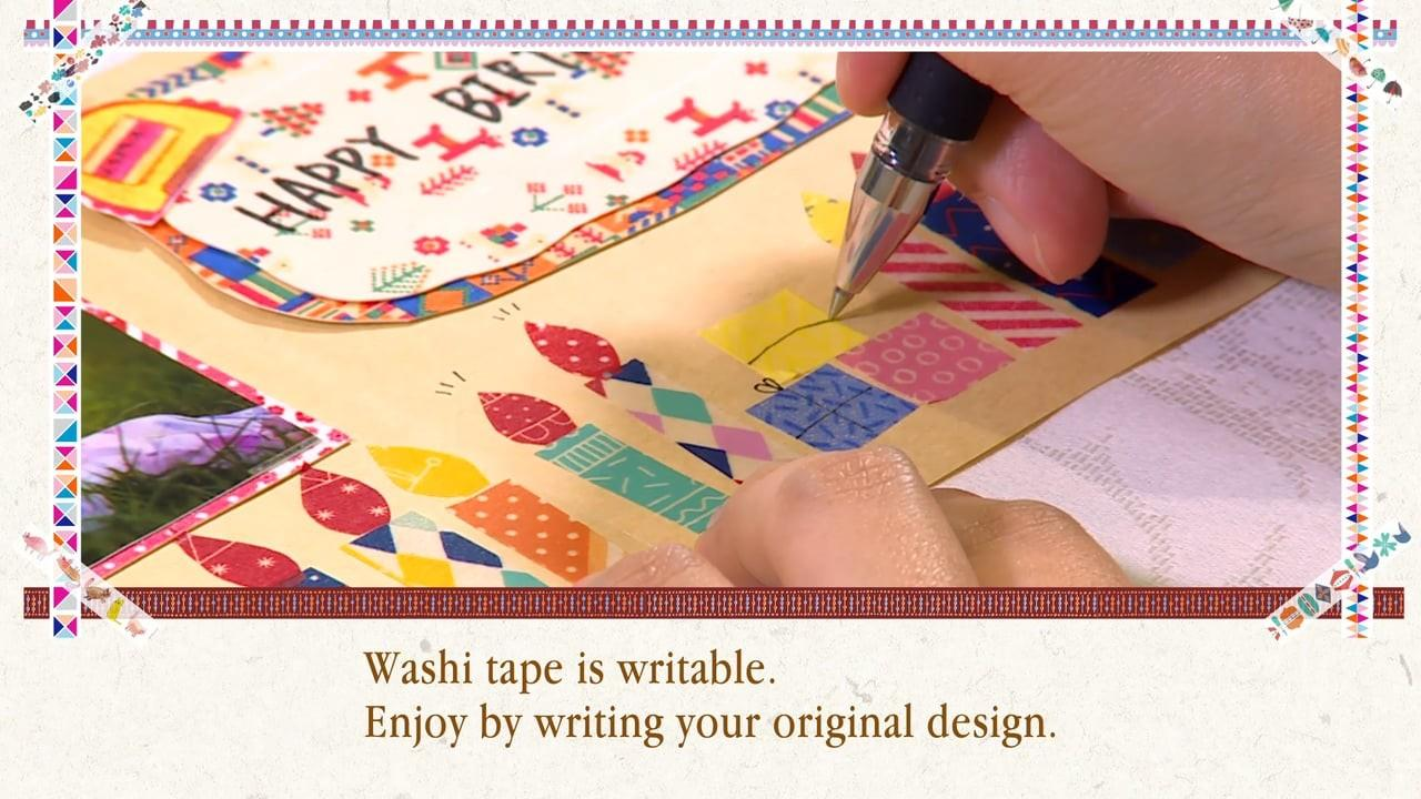 English Aimez Style Washi Tape Diy Smart Phone Cover