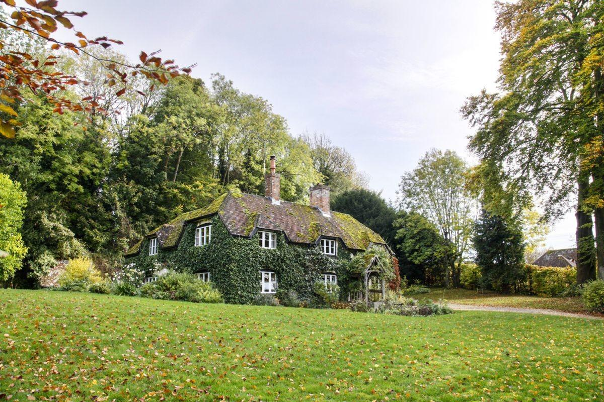 English Country Cottage Renovation Modern Edgy