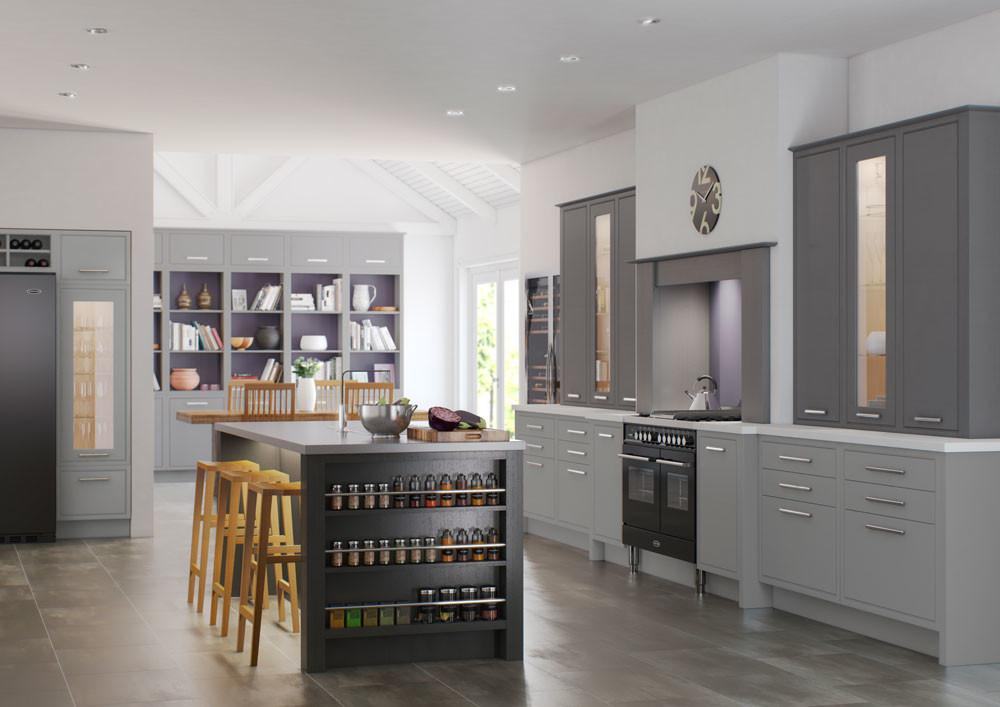 English Revival Classic Modern Kitchen Designs