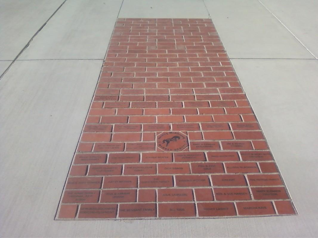 Engraved Bricks Finished Projects Tiles Pavers