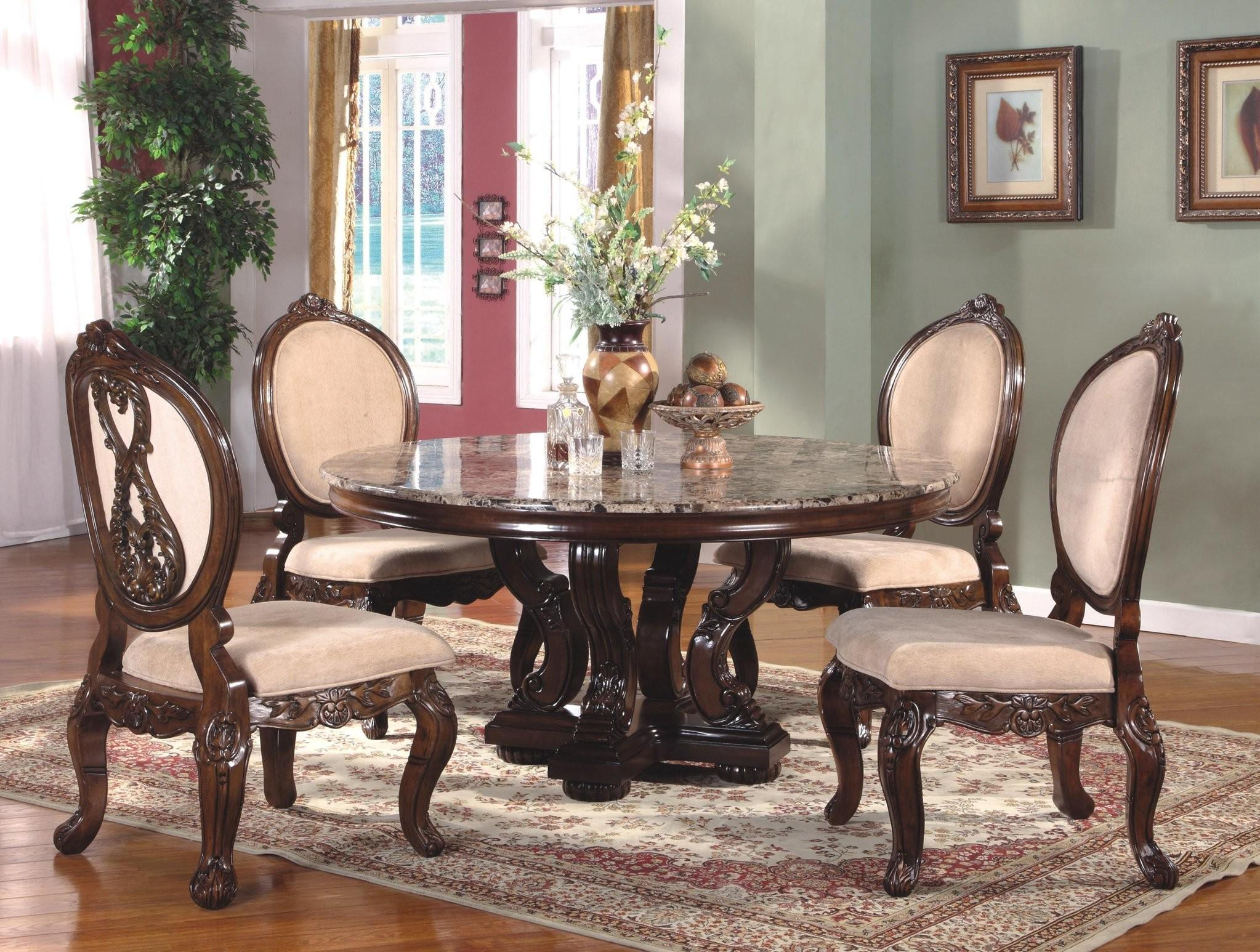 Enjoy Lavish Dinner Round Dining Room Sets