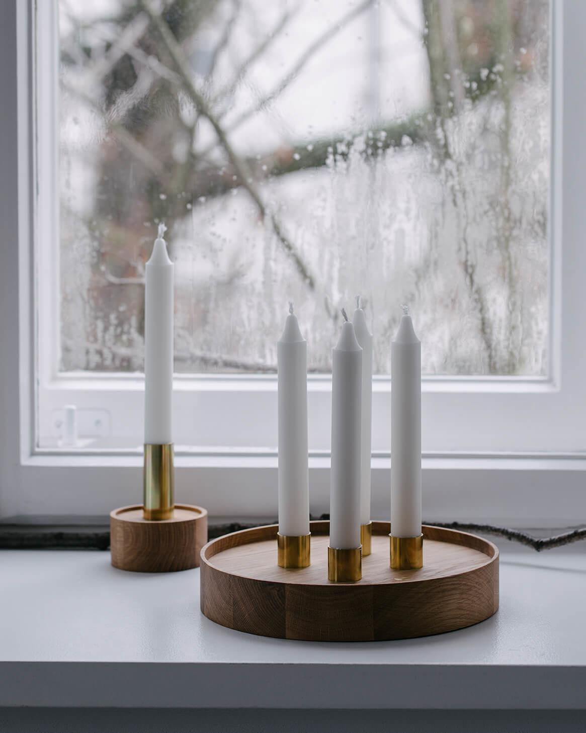 Enlightenment Candleholder Furniture Swallow Tail