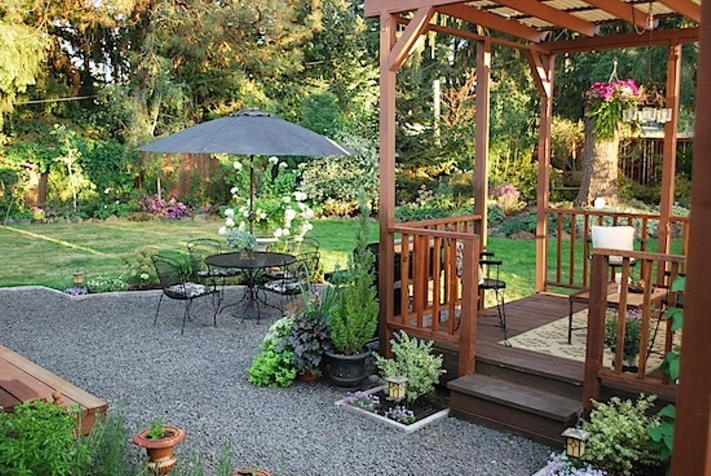 Enticing Wooden Gazebo Wrought Iron Chairs Using
