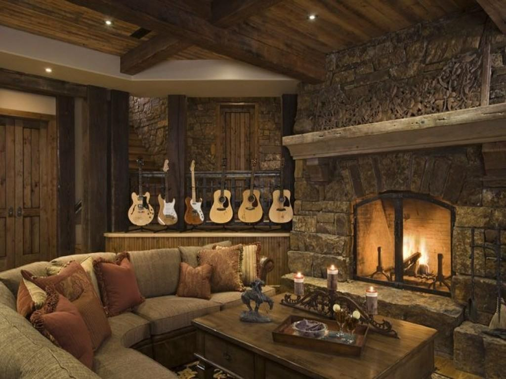 Enticing Your Home Rustic Living Room Ideas