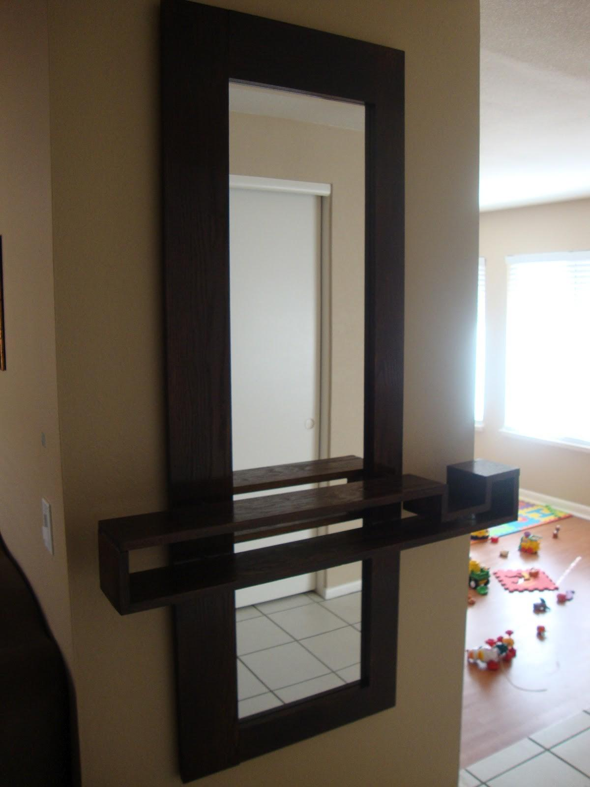 Entryway Mirrors Wall Stabbedinback Foyer