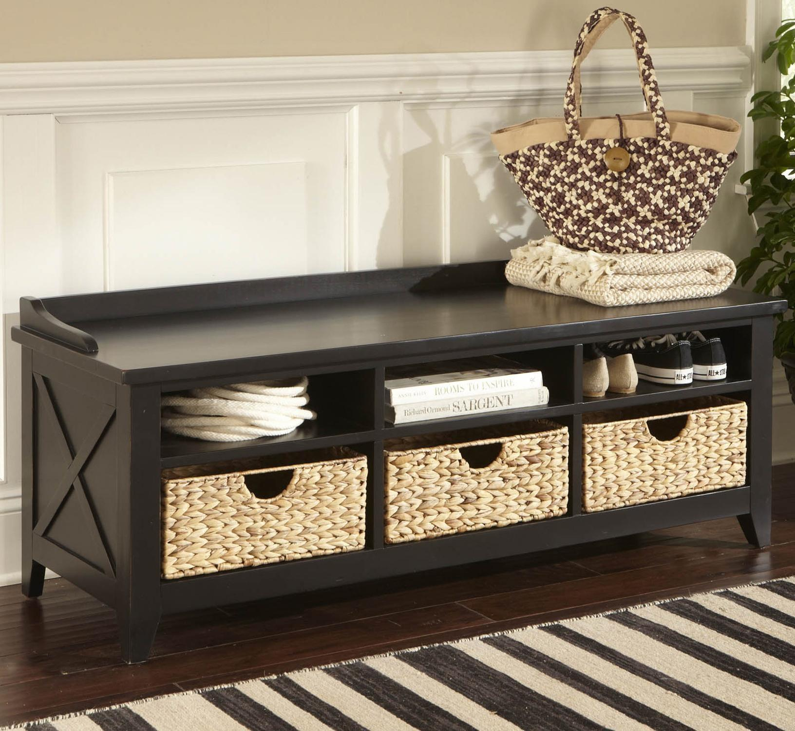 Entryway Storage Bench Best Design 2017
