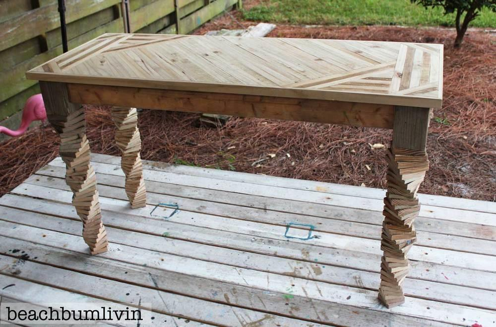 Entryway Table Fence Panels Pallets