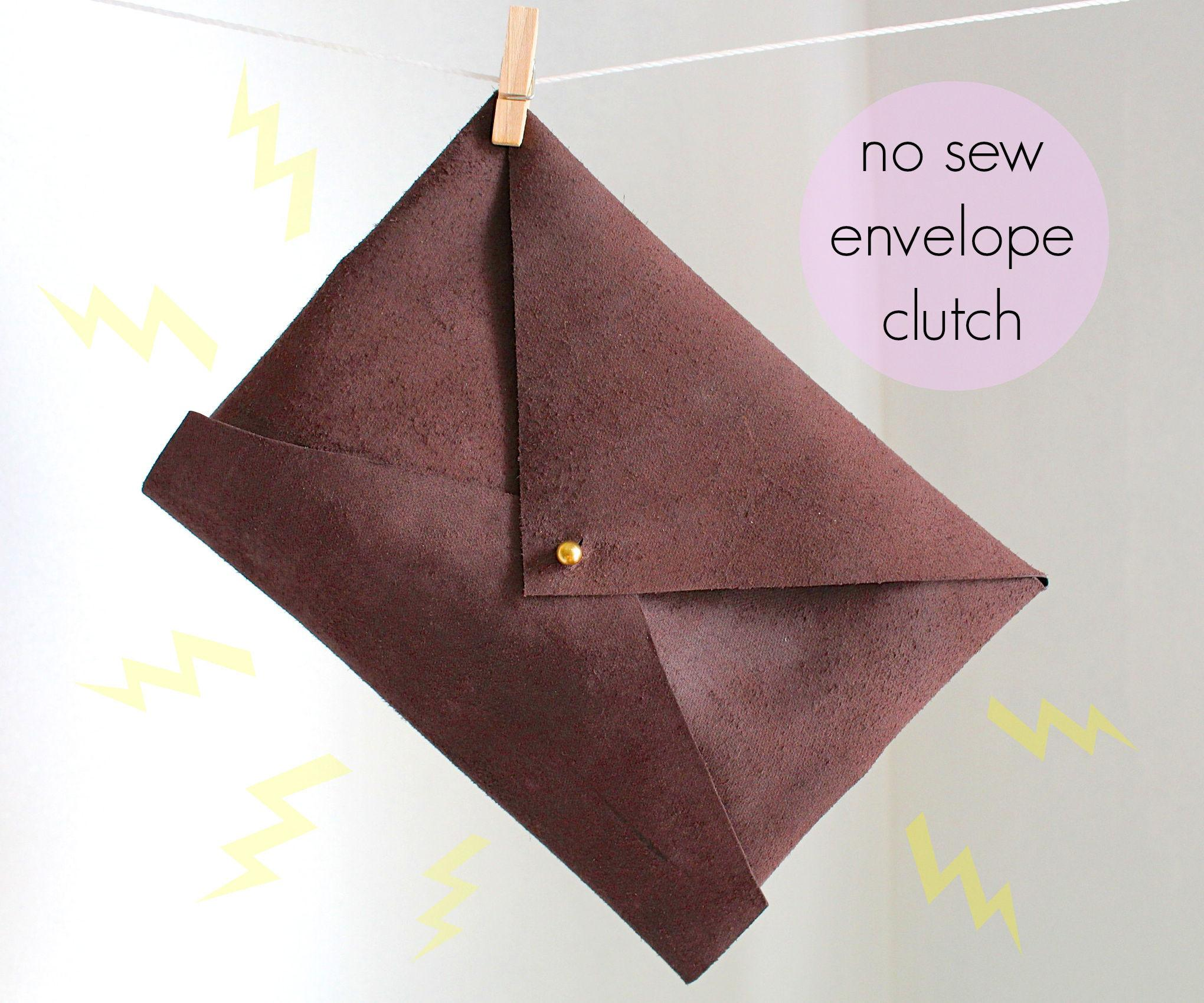Envelope Clutch Tutorial Pattern