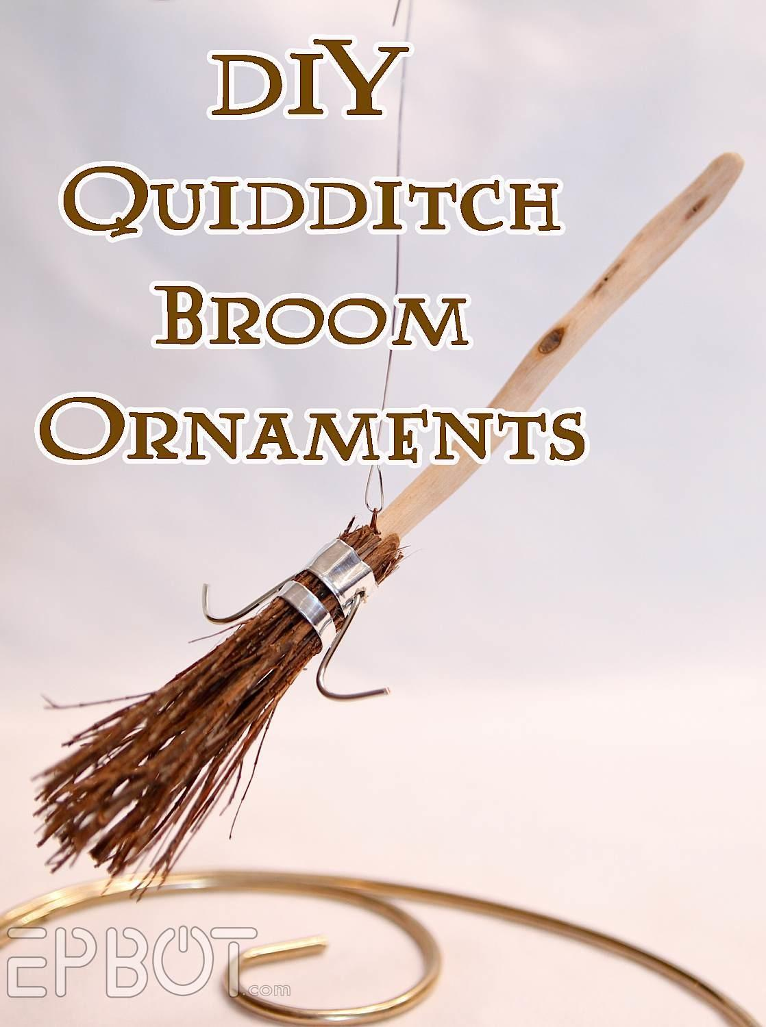 Epbot Diy Harry Potter Quidditch Broom Ornaments