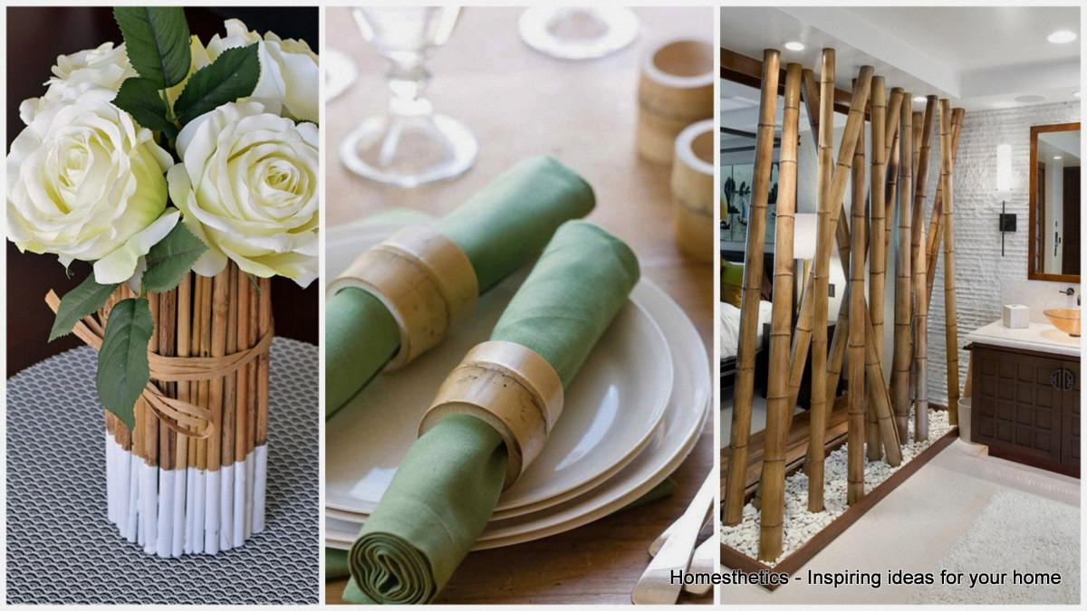 Epic Bamboo Crafts Your Home Decor