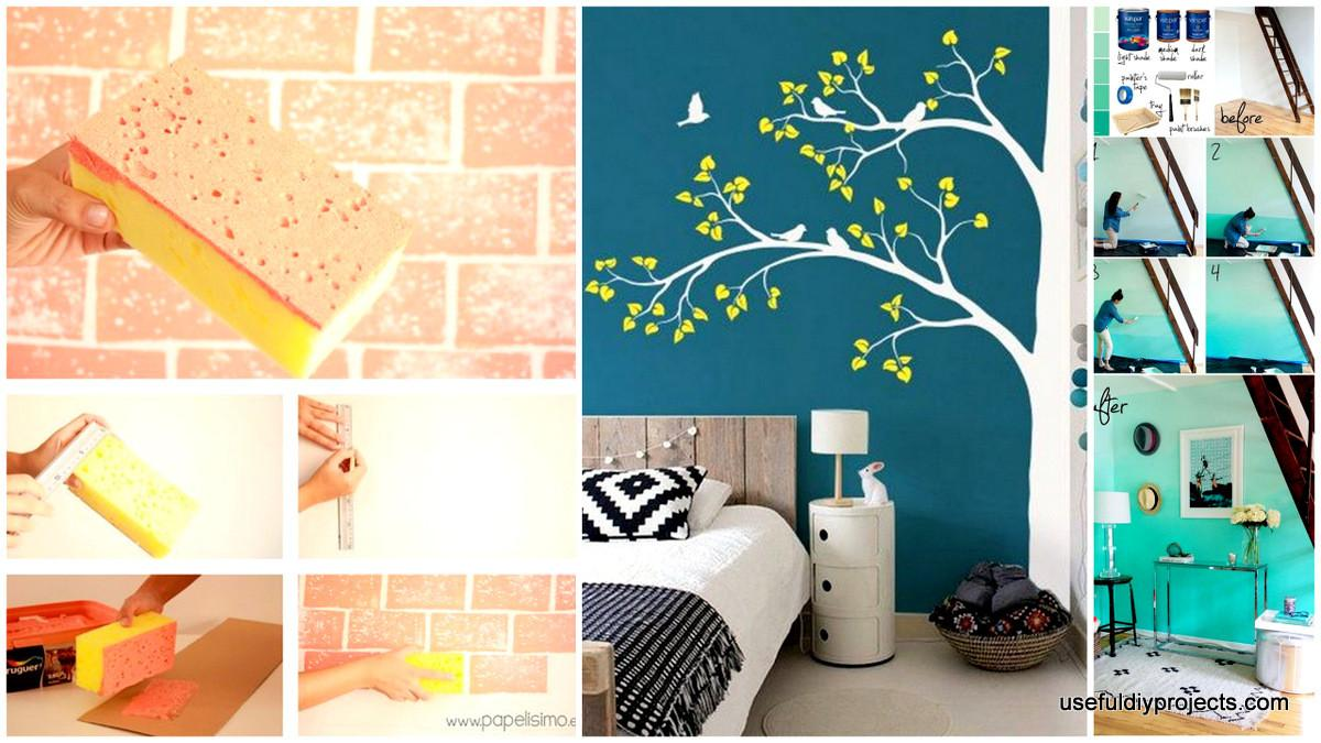 Epic Diy Wall Painting Ideas Refresh Your Decor