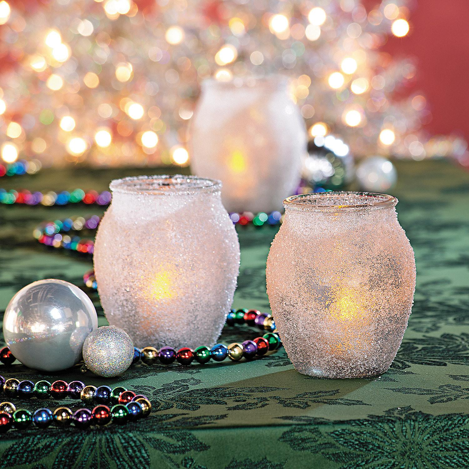 Epsom Salt Candle Holders Christmas Recipes