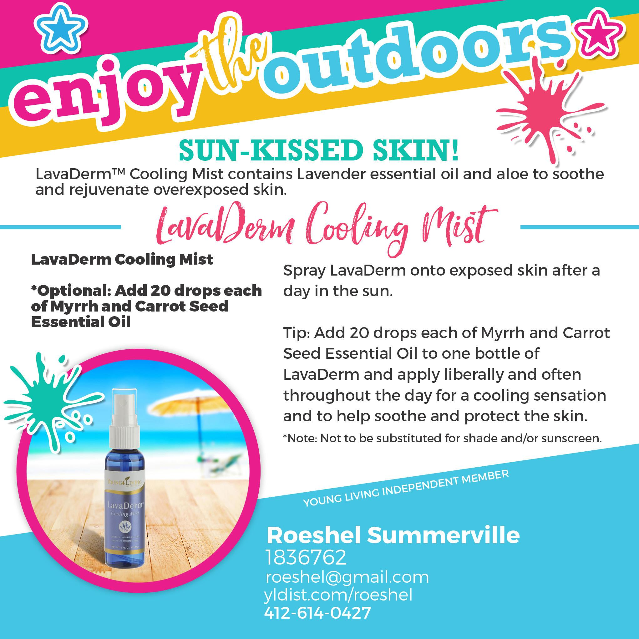 Essential Oil Infused Summer Diy Show