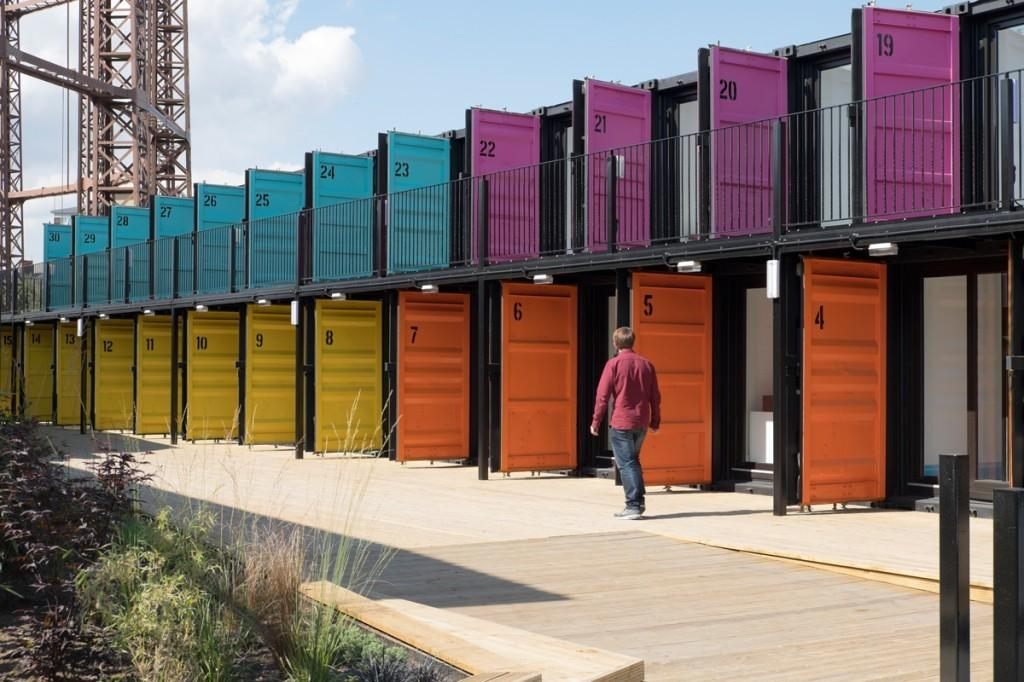 Estate Office Shoreditch Containerville Opens