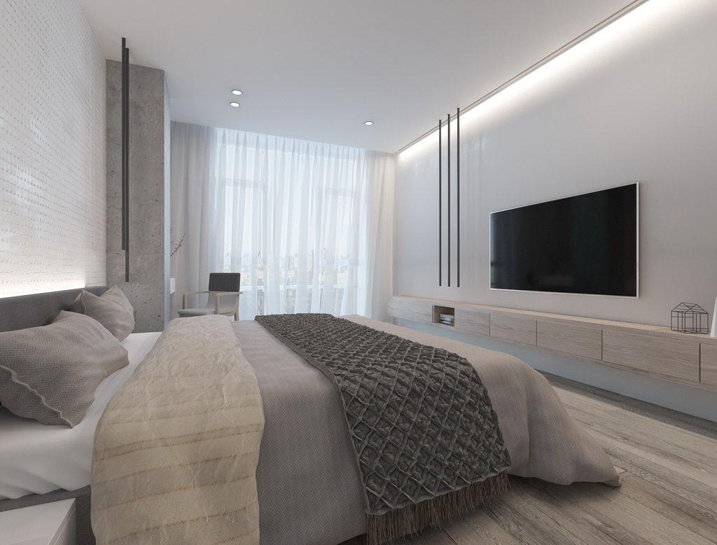 Ethno White Design Minimalist Apartment Kyiv