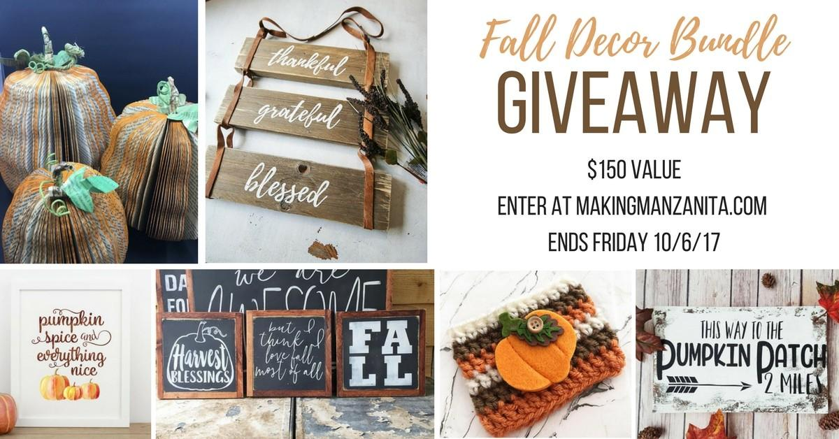 Etsy Finds Decorate Your Home Fall All Under