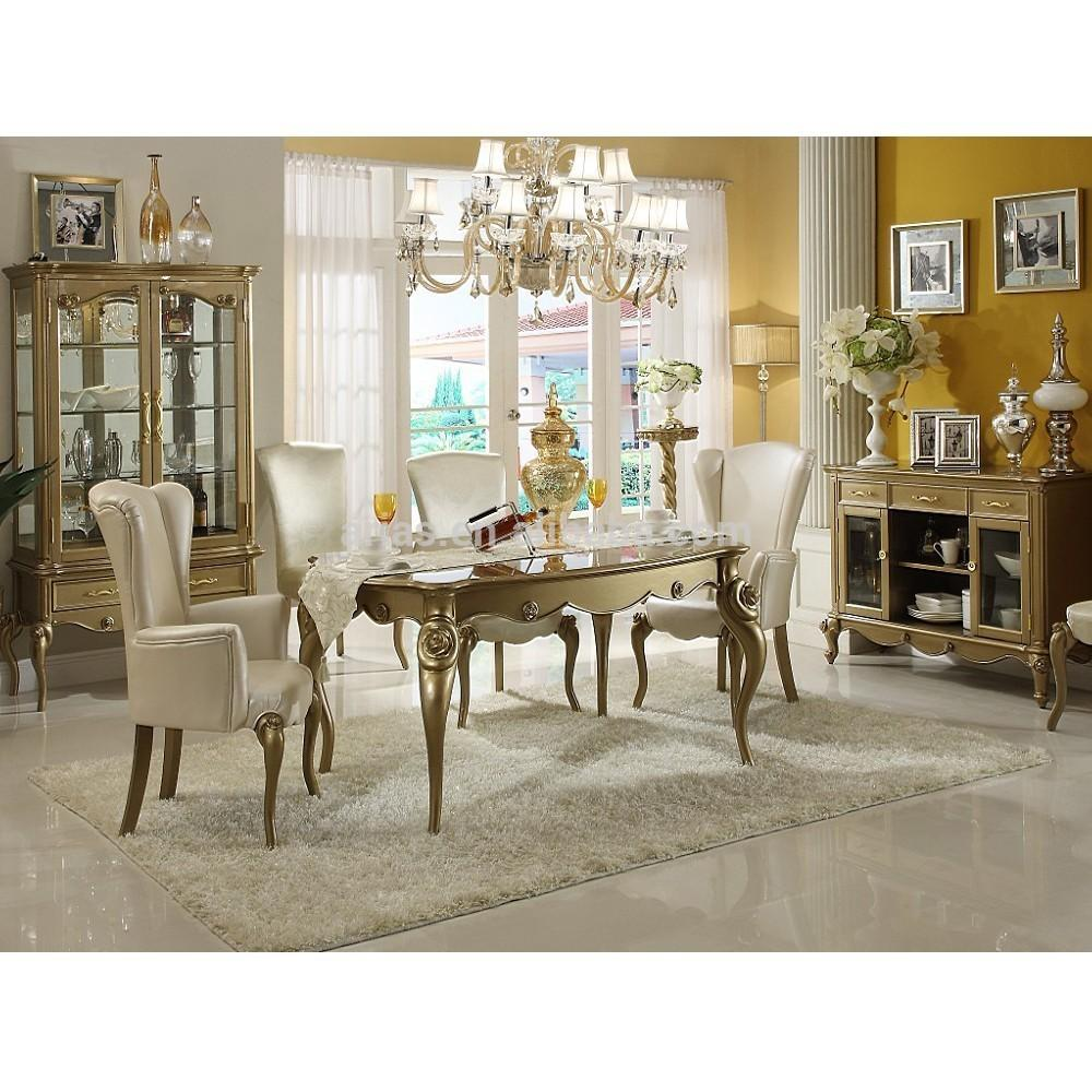 European Style Dining Room Sets Antique White