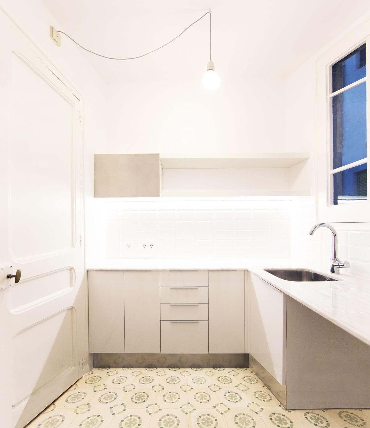 Eva Cotman Apartment Renovation Eixample Barcelona