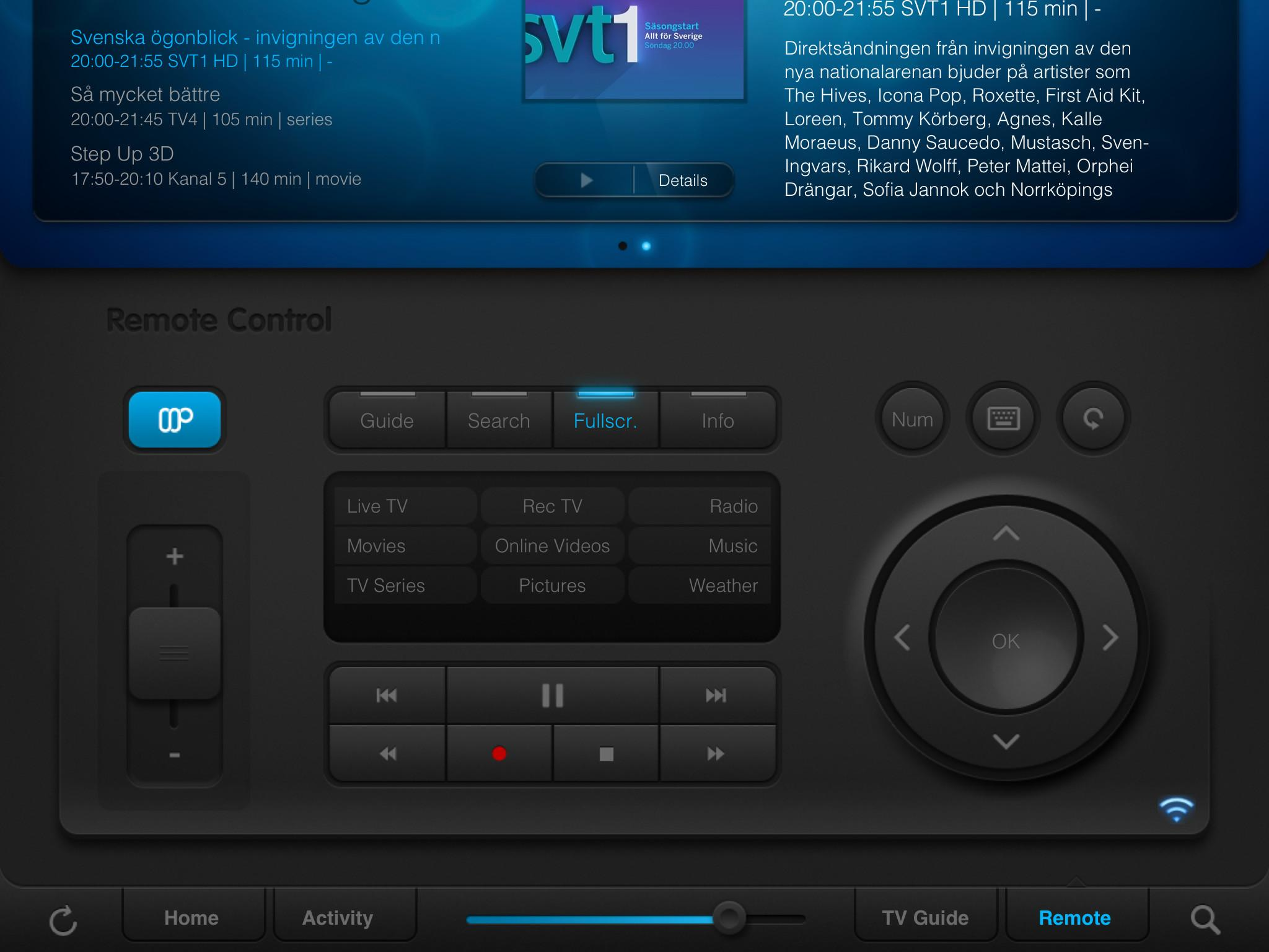 Eve Die Ipad App Mediaportal Home Automation