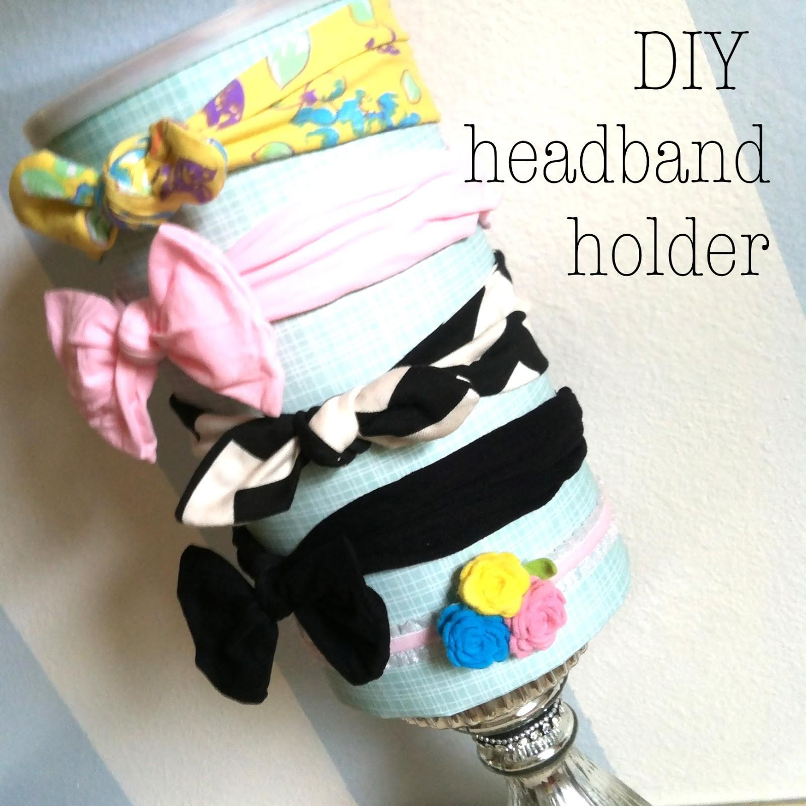 Everly Diy Summer Week Headband Holder