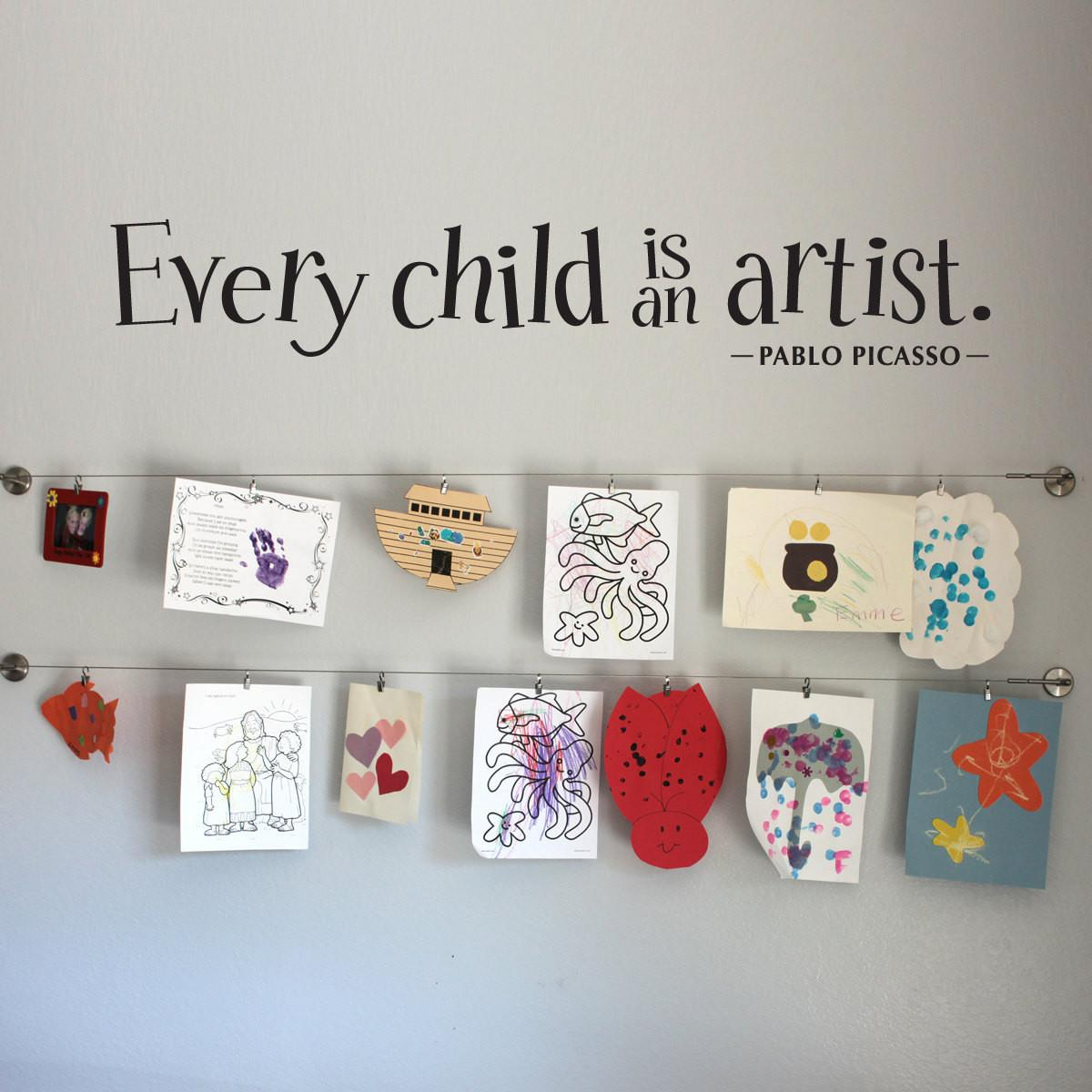 Every Child Artist Wall Decal Large