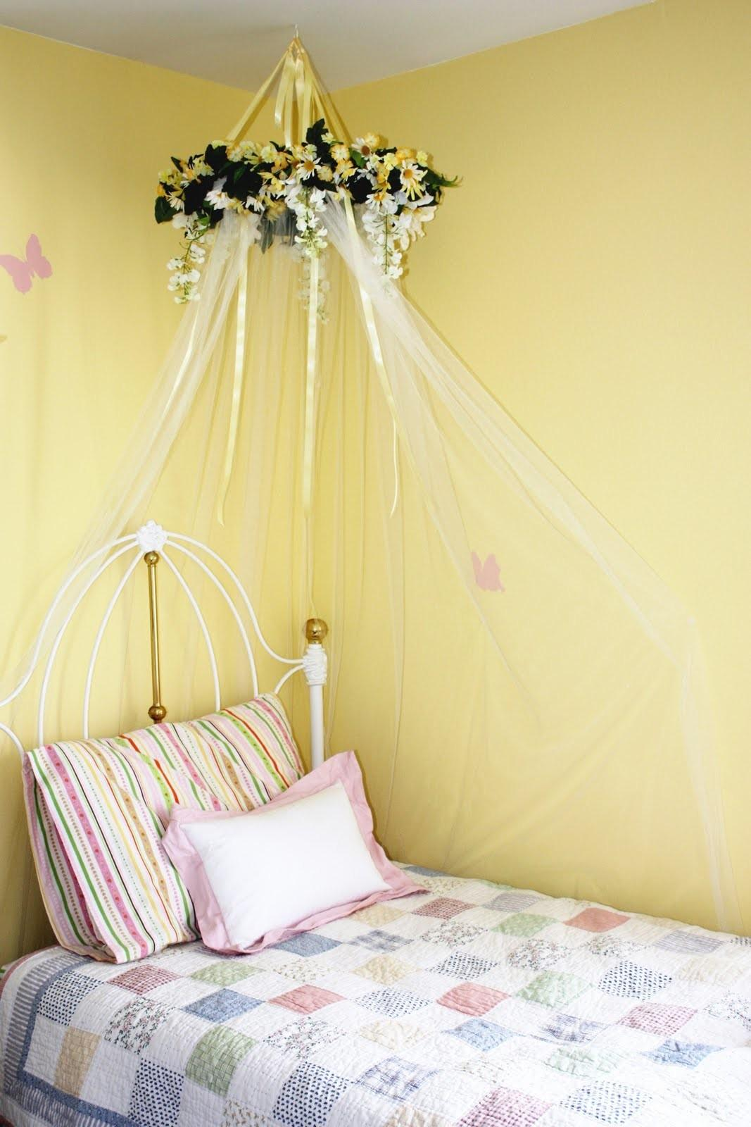 Everyday Art Diy Bed Canopy Little Girls Room