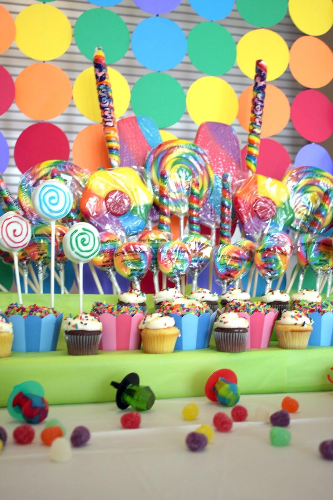Everyday Posh Candy Land Birthday Party