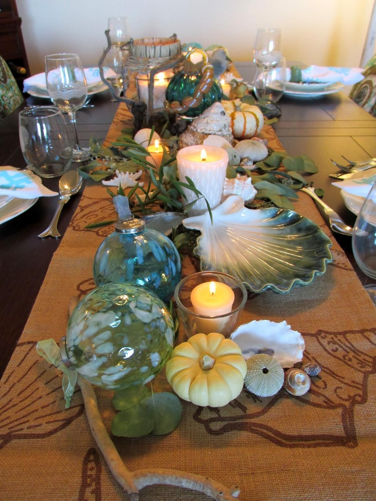 Everything Coastal Caron Fall Thanksgiving Dining Room