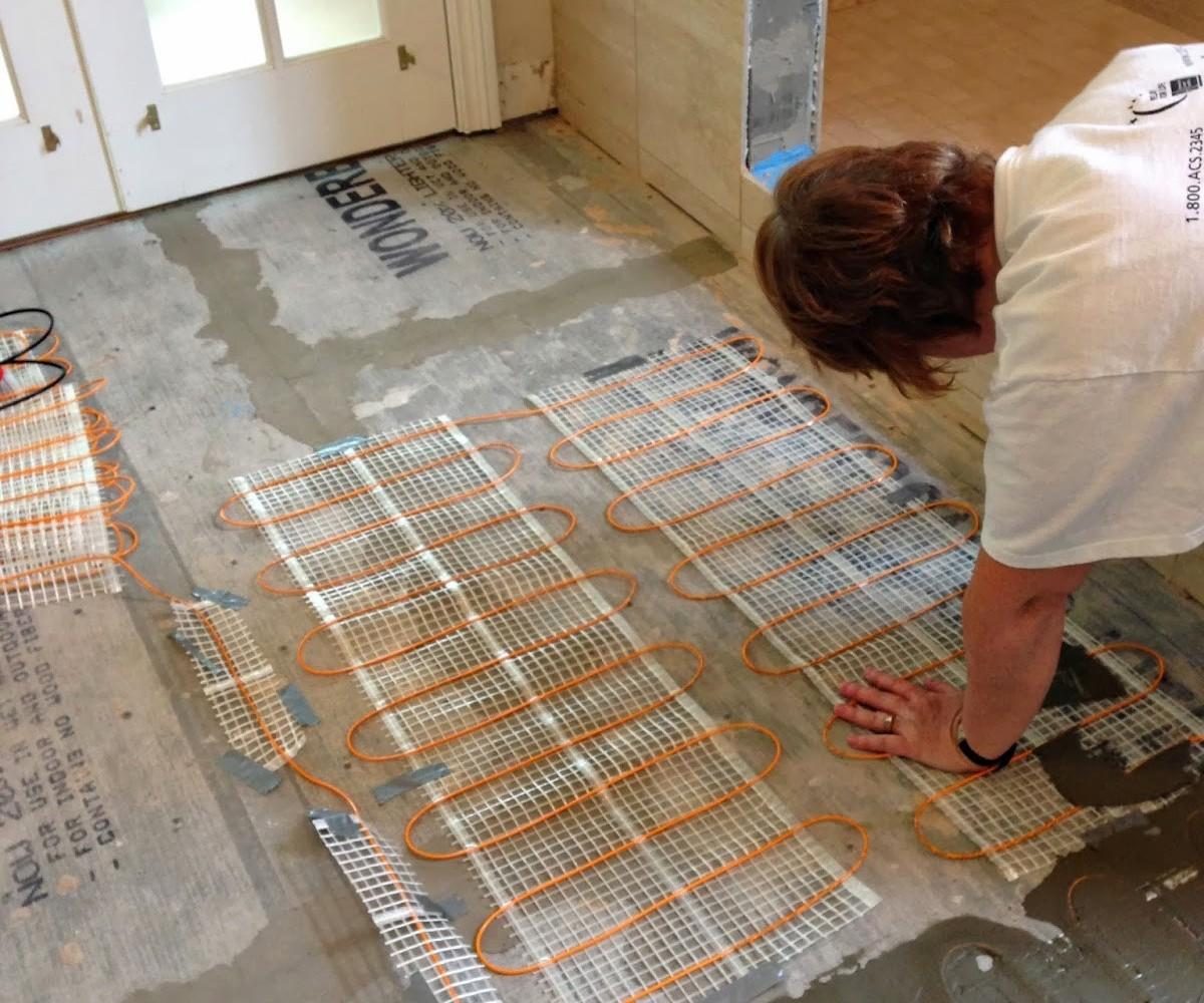 Examplary Tileinstalling Heated Tile Decorate Ideas