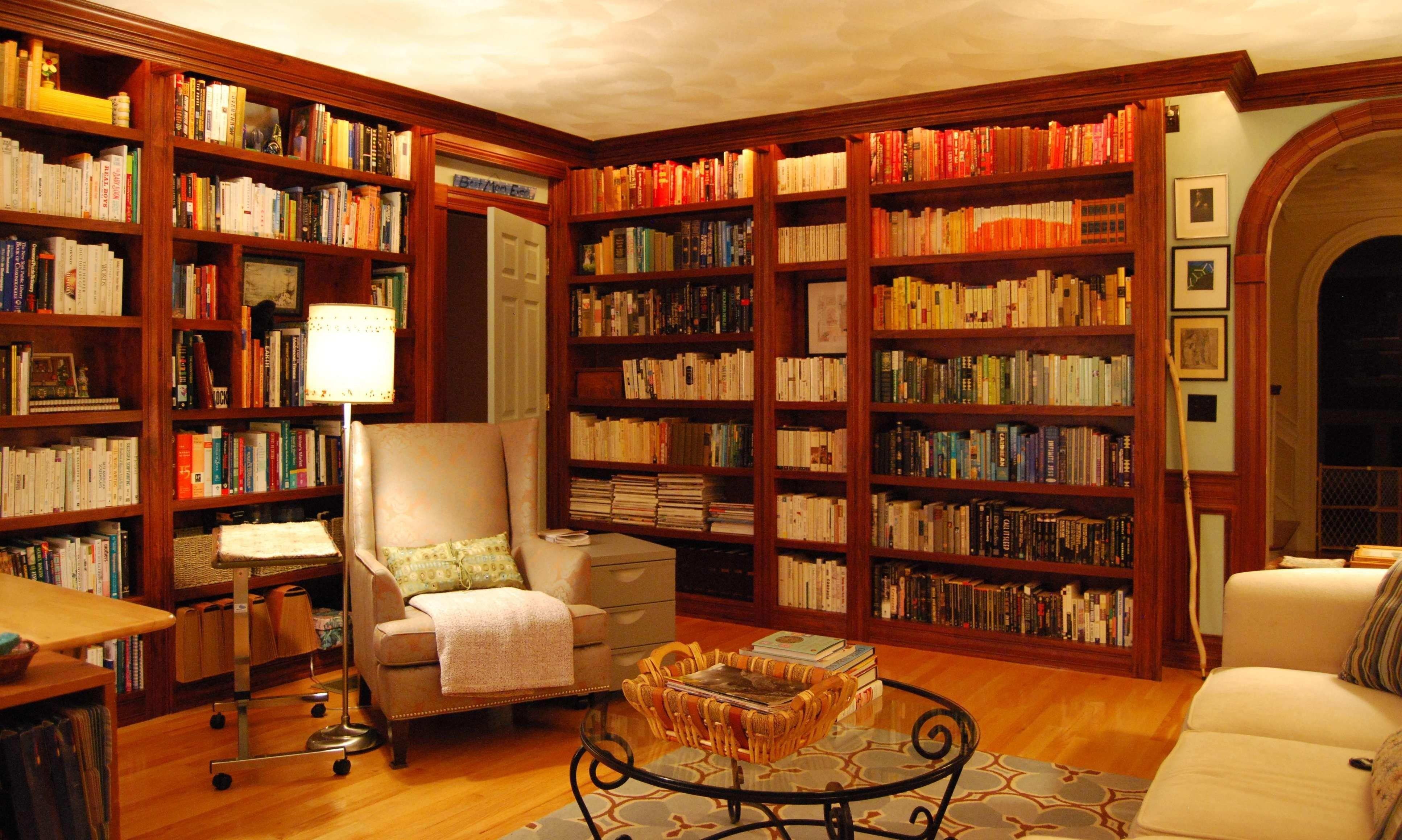 Excellent Home Library Study Room