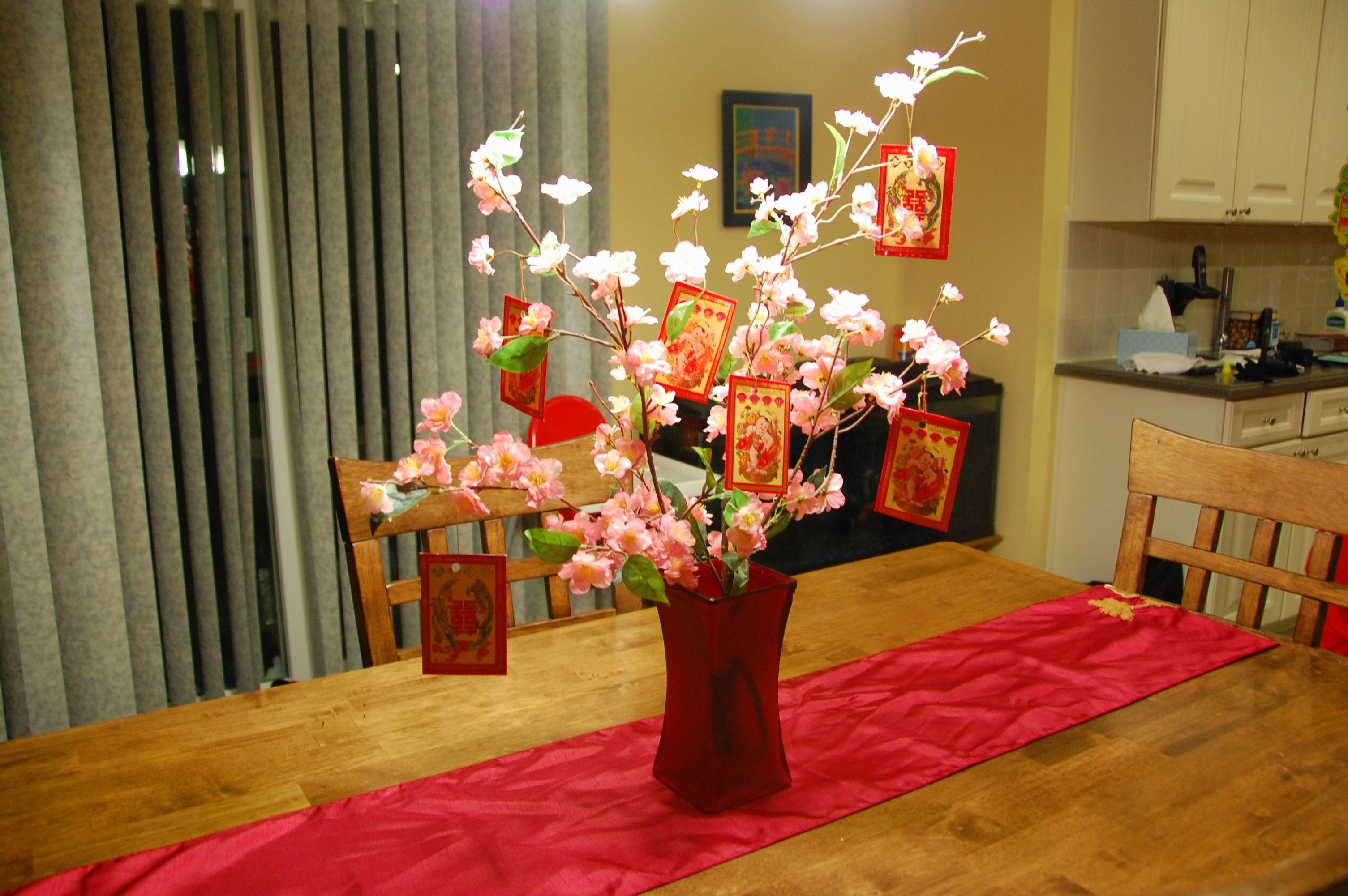Exciting Chinese New Year Decoration Completing Party