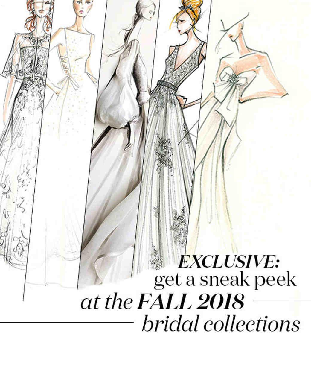 Exclusive Get First Look Fall 2018 Bridal