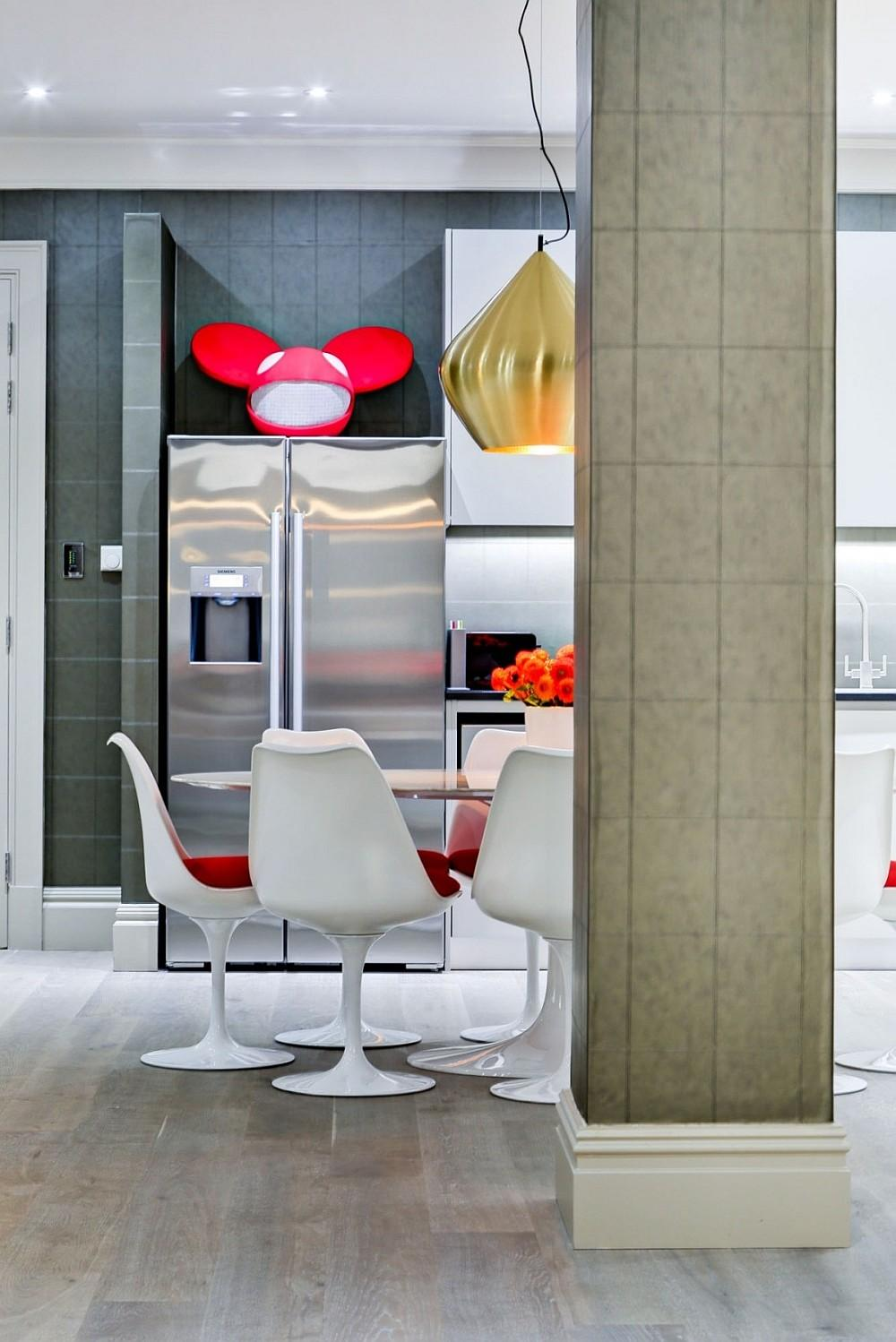 Exclusive London Bachelor Pad Wrapped Polished Opulence