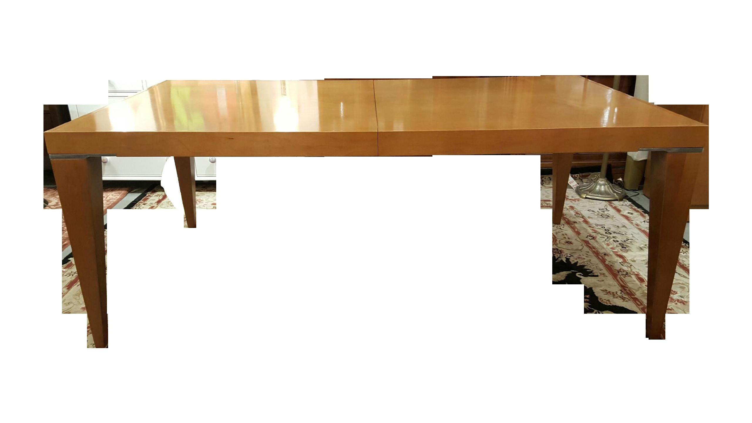 Expandable Wood Dining Table Chairish