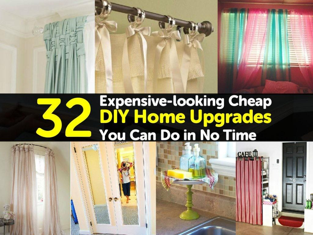 Expensive Looking Cheap Diy Home Upgrades Can