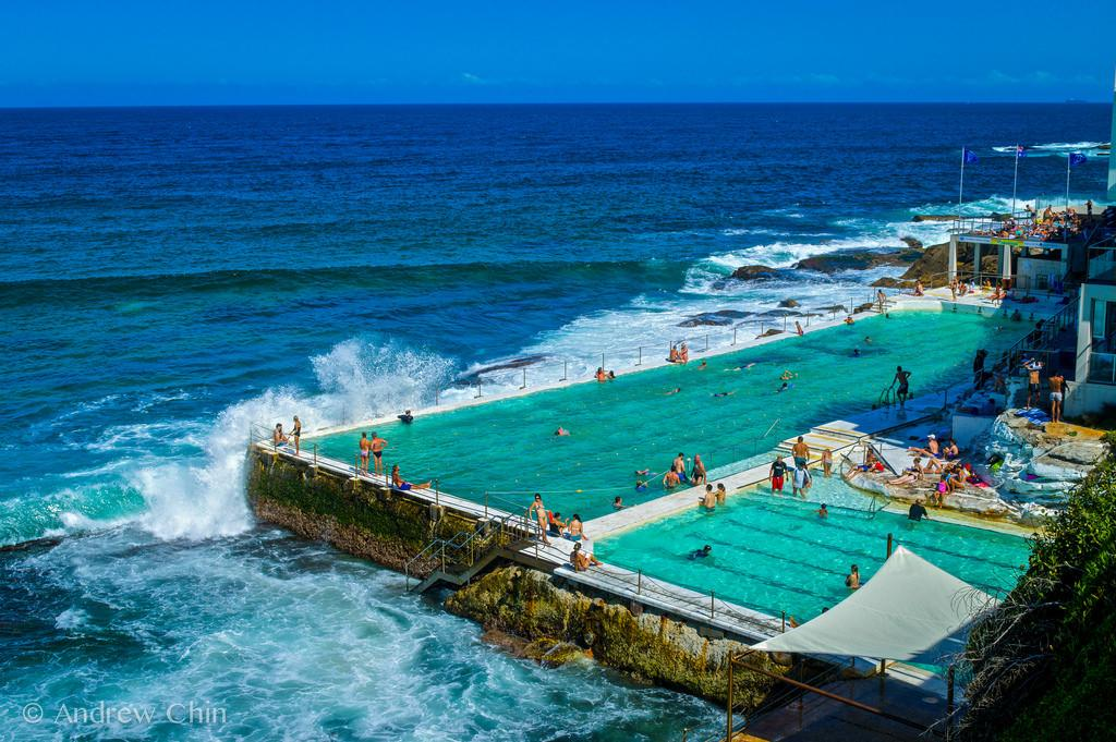 Explore Bondi Bath Beach Sydney Australia Flickr