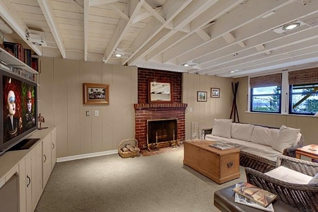 Exposed Basement Ceiling Concept Information