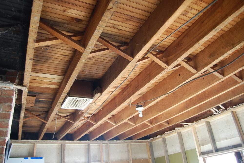 Exposed Wood Beams Ceiling Home Design Ideas
